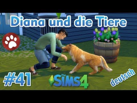 Sims 4 - Diana und die Tiere #41 - Manuel wird Kumpel von Karly