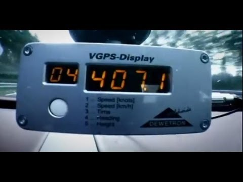 Top Gear - Bugatti Veyron top speed test - BBC