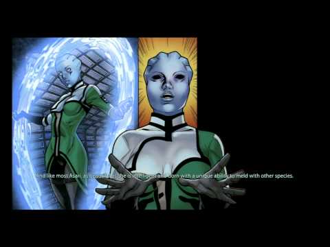 Mass Effect 2 [PS3] Interactive Backstory Comic (HD)
