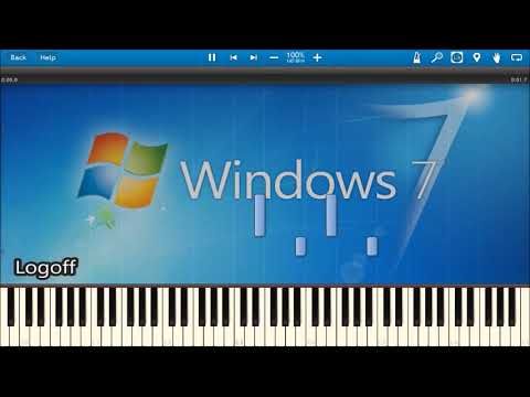 WINDOWS 7 SOUNDS IN SYNTHESIA