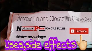 Nodimox plus capsule 500mg_review in hindi||Ep_29👍28122018_best antibiotic for bacterial infection