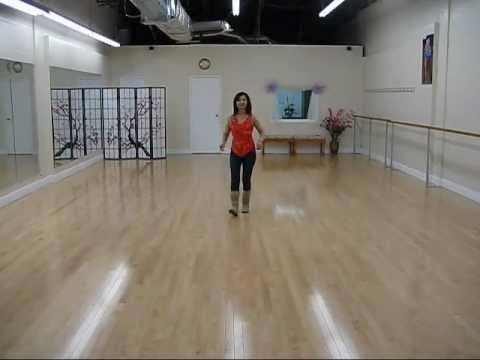 Kiss The Stars - line dance (dance & walk through)