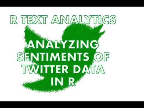 Text Analytics with R | Sentiment Analysis on Twitter Data | How to analyze tweets in R
