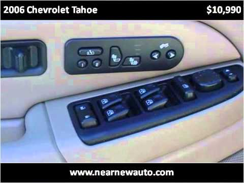 2006 Chevrolet Tahoe Used Cars Berea KY