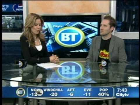 Jeremy Gutsche (TrendHunter.com) on Breakfast Television - Trends in 2009