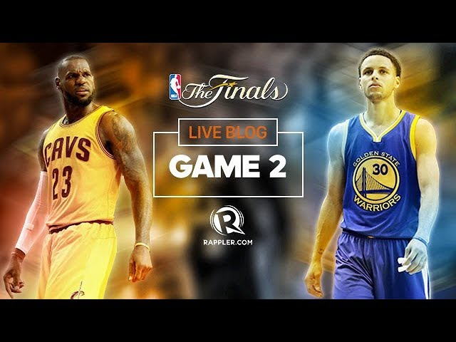 Cavs Vs Warriors Game 2 NBA Finals