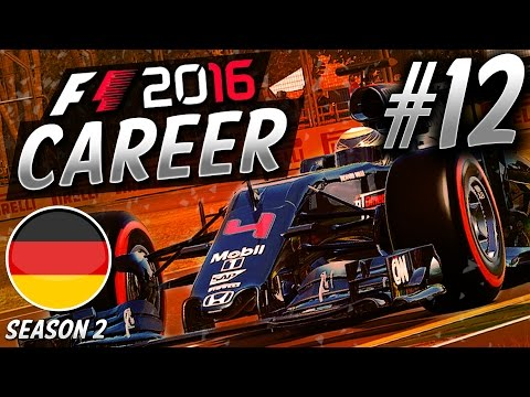 HIGH-SPEED CRASH! BIZARRE RACE! - F1 2016 CAREER MODE S2 PART 12: (GERMANY) | aarava