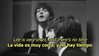 We can work it out - The Beatles (LYRICS/LETRA) [Original] (+Video)
