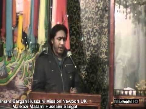 Asghar Khan Reciting Izzat Khuda Ki Fatima(s.a) On Eid Ghadeer (uk Newport ) video