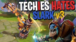 Techies Hates Slark v3 - DotA 2 Funny Moments