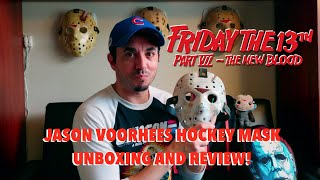"""Friday the 13th Part VII: The New Blood"" Hockey Mask Unboxing / Review!"