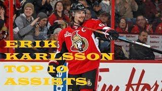 Erik Karlsson Top 10 Assists