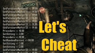 Let's Cheat on Fallout 3 PC - Console Command Cheats (ammo, godmode, etc) - NOELonPC