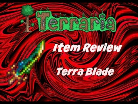 Terraria(ios) 1.2 Item Review Terra Blade