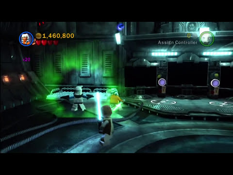 LEGO Star Wars 3 - The Clone Wars - Episode 12 - Blue Shadow Virus Part 1/2 (HD)