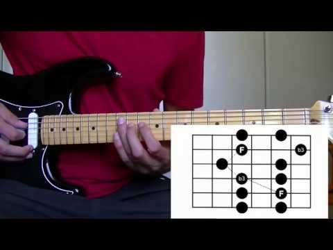 Cours de Guitare : Pentatonique mineure position 3 - Impro solo blues rock