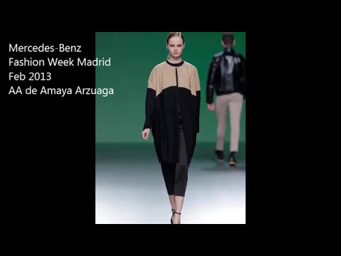 AA de Amaya Arzuaga -- Mercedes-Benz Fashion Week Madrid Feb 2013