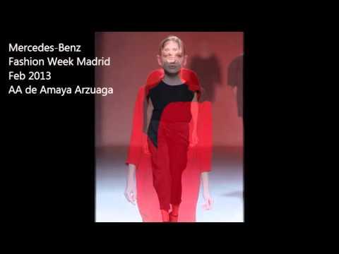 AA de Amaya Arzuaga -- Mercedes-Benz Fashion Week Madrid Feb 2013
