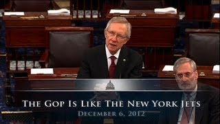 Reid: The GOP Is Like The New York Jets