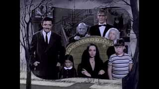The Addams Family (1964) TV Show Opening. COLORIZED (fanmade)