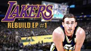 Rebuilding The Los Angeles Lakers | NBA 2K17 MyGM Ep. 1
