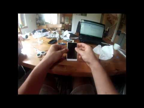 Sony Experia Go - Display repair with Gopro [HD][German][English subtitles]