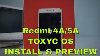 Install & Preview | Redmi 4A/5A | [OFFICIAL] ToxycOS | Smartphone 2torials