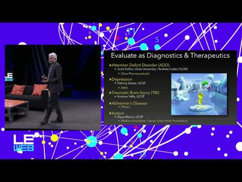 Video Games and Neuroscience: A Vision of the Future of Medicine and Education - LeWeb'14 Paris
