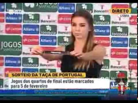 Bronca no Sorteio da Ta�a de Portugal (2014) Penafiel vs Benfica