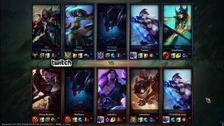 League of legends first game