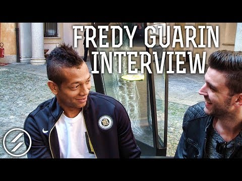 Exclusive Fredy Guarìn interview @ #Magista Event - Scarpini.it
