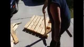 Re-claiming Pallets Made EASY!! - The Pallet Pal