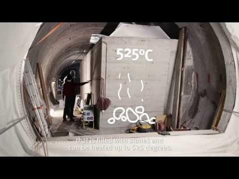 NRP 70 - Electricity storage via adiabatic air compression