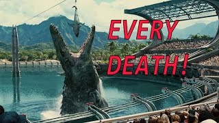 Every Death in Jurassic World