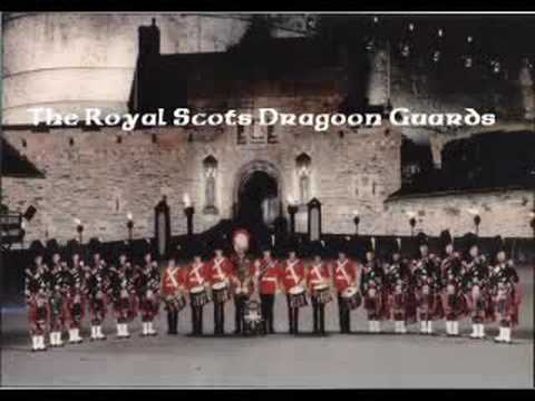 The Royal Scots Dragoon Guards  Amazing Grace