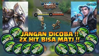 KAJA VS CHOU || FULL BLADE OF DESPAIR || 2X HIT MATI (MOBILE LEGENDS)