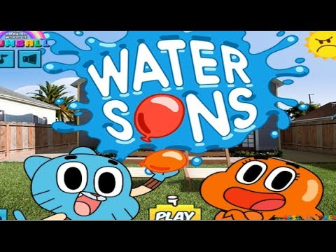 The Amazing World Of GUMBALL - Water Sons Game - Best Kid Games