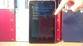 How To Factory Reset Google Nexus 7 Tablet