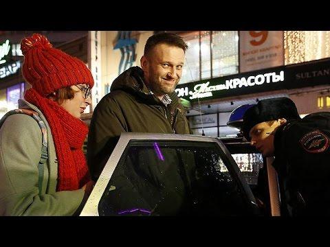 Russia: arrestato il blogger anti-Putin Navalny per aver violato i termini dei domiciliari