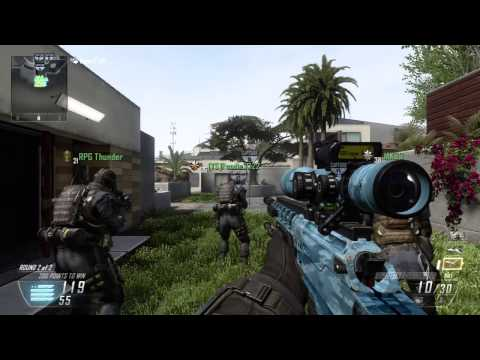 FaZe Pamaj - Black Ops 2 - Sniping commentary - The best Cod