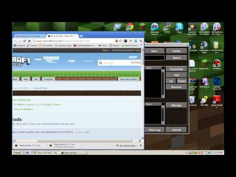 Minecraft: The Best And Easiest Way To Install ANY Mod! Magic Launcher Review!