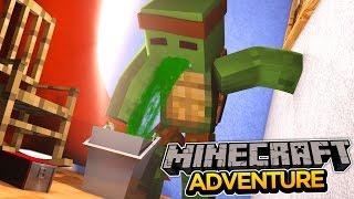 Minecraft Adventure - TINYTURTLE GETS A VOMITING BUG!