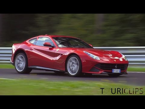 Ferrari F12 Berlinetta at the Nurburgring