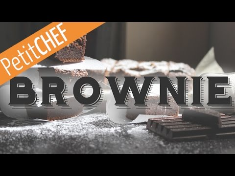 Receta Brownie de chocolate, Petitchef.es, stop motion