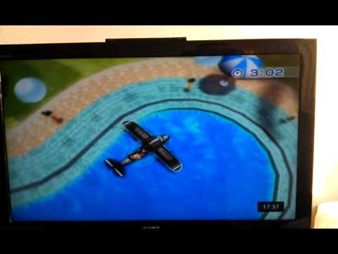 Pool landing in Wii Sport resort