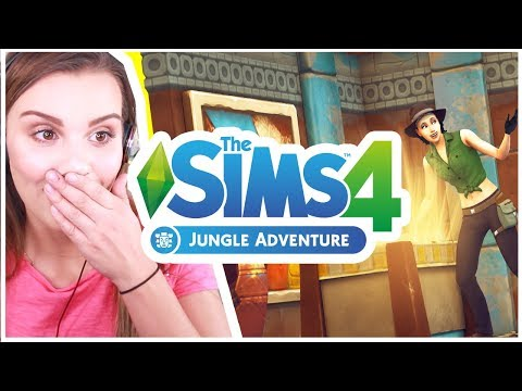 The Sims 4 Jungle Adventure! New Deaths and Gameplay Trailer Reaction!