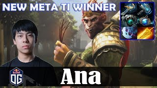 Ana - Monkey King Roaming | NEW META TI WINNER | Dota 2 Pro PUB Gameplay