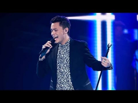 Nathan Allgood Sings When I Was Your Man: The Voice Australia Season 2