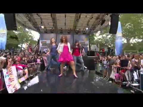 Camp Rock 2 - It's On! -  Live On Gma's 2010 Summer Concert Series video