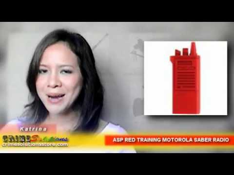 ASP RED TRAINING MOTOROLA SABER RADIO REVIEW